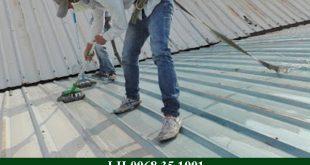 Thợ chống dột mái tôn tại TP HCM giá rẻ, chuyên nghiệp