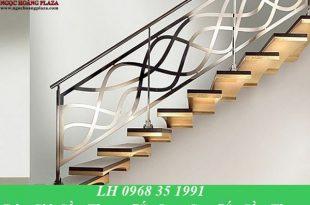 Báo giá cầu thang sắt, lan can sắt cầu thang, tay vịn cầu thang sắt