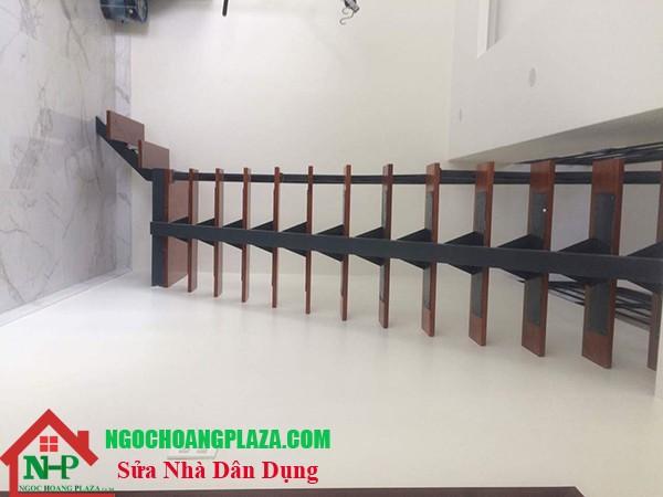 Mẫu cầu thang sắt nghệ thuật cao cấp