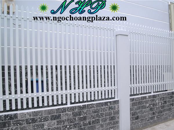 Mẫu hàng rào sắt nghệ thuật
