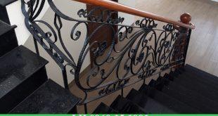 Làm cầu thang sắt tại bình dương giá rẻ, mẫu đẹp
