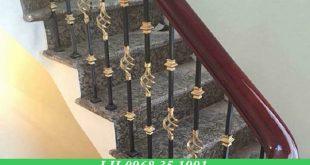 Làm cầu thang sắt tại bình phước giá rẻ