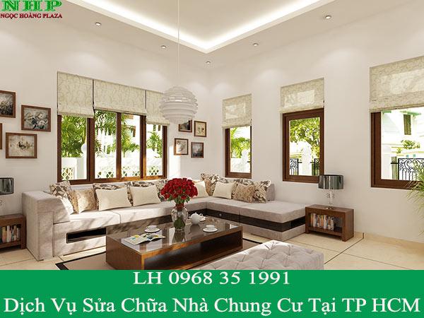 Dịch vụ sửa nhà chung cư tại TP HCM giá rẻ