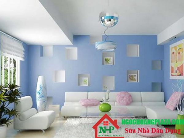 Những ưu điểm khi thi công sơn nhà