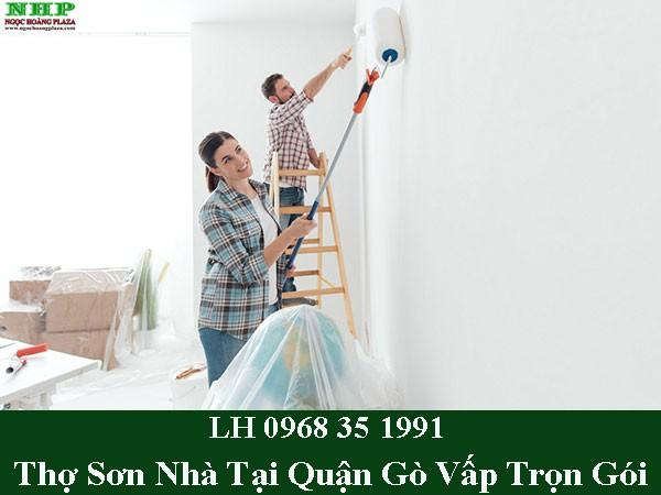 Thợ sơn nhà tại quận gò vấp trọn gói