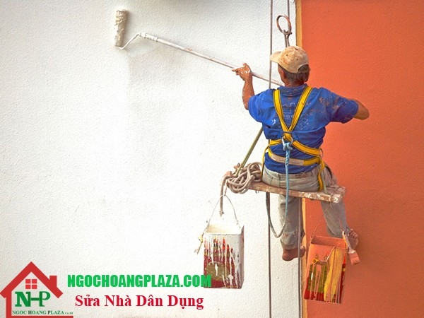Thợ sơn nhà tại quận tân bình
