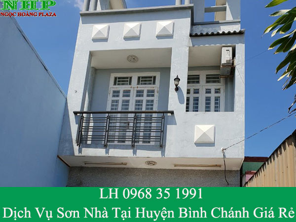 Dịch vụ sơn nhà tại huyện bình chánh giá rẻ