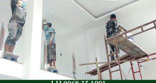 Báo giá thi công sơn nước tường nhà, trần nhà