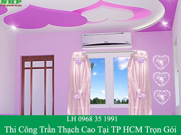 Thi công trần thạch cao tại TPHCM trọn gói