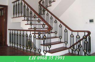 Làm cầu thang sắt nghệ thuật tại TPHCM giá rẻ