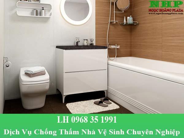 Dịch vụ chống thấm nhà vệ sinh chuyên nghiệp, giá rẻ