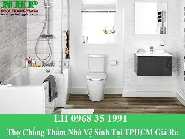 Thợ chống thấm nhà vệ sinh tại TPHCM giá rẻ