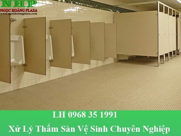 Dịch vụ xử lý thấm sàn vệ sinh chuyên nghiệp