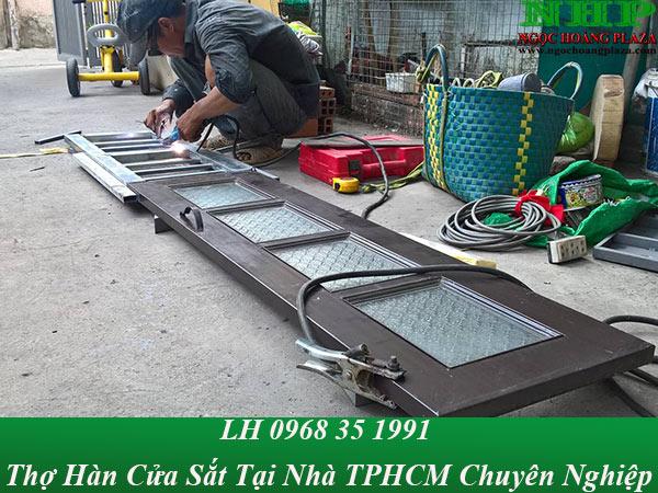 Thợ hàn cửa sắt tại TPHCM chuyên nghiệp, giá rẻ