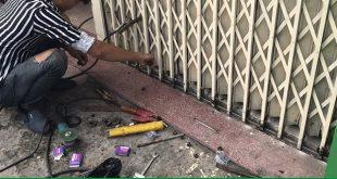 Thợ sửa cửa sắt tại nhà TP HCM giá rẻ, dịch vụ sửa chữa cửa sắt chuyên nghiệp