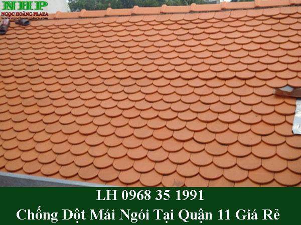 Dịch vụ chống dột mái ngói tại quận 11