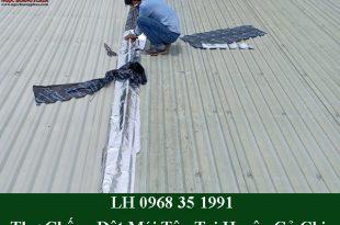 Thợ chống dột mái tôn tại củ chi triệt để