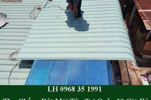 Thợ chống dột mái tôn tại quận 10 giá rẻ
