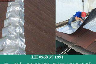 Thợ chống dột mái tôn tại nhà bè triệt để